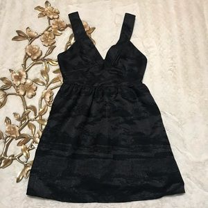 NWT H & M Black Sleeveless Fit & Flare Dress 10